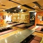 木村屋本店 - 貸切に最適な店内。最大75名様。