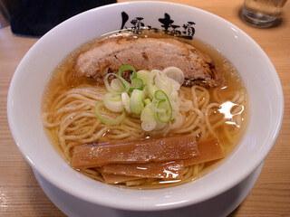 人類みな麺類 - らーめん macro・豚厚・メンマ薄(800円)