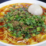 ビンギリ - 勝浦タンタン麺(+味玉)