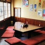 福太郎 - グループのお客様に人気のお席。掘りごたつスタイルなのも魅力です!
