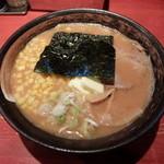 楓 - 味噌らーめん790円+バター50円+コーン100円
