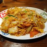 中国料理ふくふく - いりタマゴの四川炒め(840円)