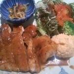 雅しゅとうとう - 鶏ごま味噌焼きメイン