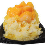 冰冰花 - 超熟アップルマンゴーかき氷 600円