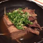大鍋や - もつ肉豆腐(¥480)