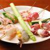 串ゆう - 料理写真:店主の遊び心の光る様々な創作串揚げをお楽しみ下さい。