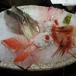 夢処 漁師めし 雑魚や - お造り盛り合わせ