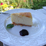 モカモアコーヒー - ベイクドチーズケーキ