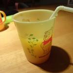 牛たんKOYAMA - お子様ハンバーグについてくるオレンジジュース!
