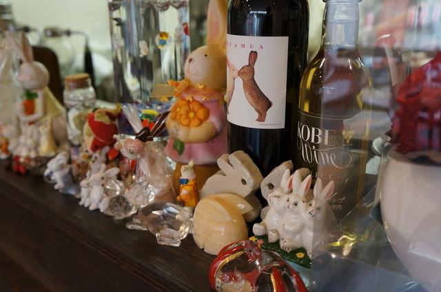 Cafe & Kitchen Rabbits - お客様から頂かれた、ぴょんこ達だそうです