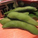 季旬 鈴なり - 枝豆