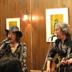 カフェ サルーテ - 2014・3   小山卓治・高橋 研ライブ