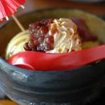 eX cafe - 天竜寺パフェ 撮り方がヘタ 実際はもっと魅力的