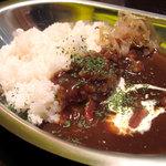 讃岐流坦々麺と大宝寺カレーの専門店 北斗辛軒 - ハーフカレー
