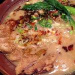 讃岐流坦々麺と大宝寺カレーの専門店 北斗辛軒 - 大判ロース排骨坦々麺