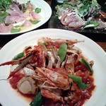 Shu-ya - 料理写真:魚介の旨みたっぷり!海のトマト煮込み。