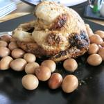 コッコローチキン - 料理写真:NEW久々のコッコローチキン!うずらの卵薫製は私のお手製です。