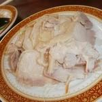 上海軒 - 【2014年7月】蒸し鶏(300円)