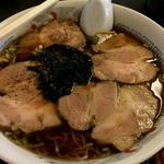 大釜 - チャーシューめん700円・・・美味しいです。
