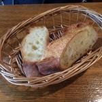 29208875 - ランチのパンです。なぜかバターつきません。