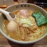 麺屋吉左右 - 味玉ラーメン大盛り900円