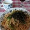 ドマーニ - 料理写真:日替りランチ(明太子スパゲッティ)800円→500円
