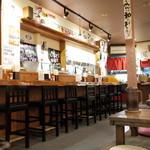 ちゃ~しゅう工房でっかいどう - ちゃーしゅう工房&とりking 京都千本の店内、もうこの雰囲気でないのかな?(13.10)