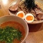 鶏ポタ ラーメン THANK - 味玉つけめん(300g)