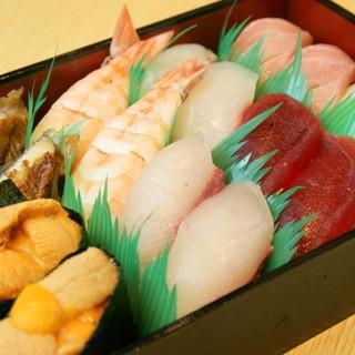 鮮度抜群!絶品寿司をご自宅で♪