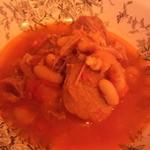 Bumbuku - 塩漬け豚と白インゲン豆のトマト煮込み