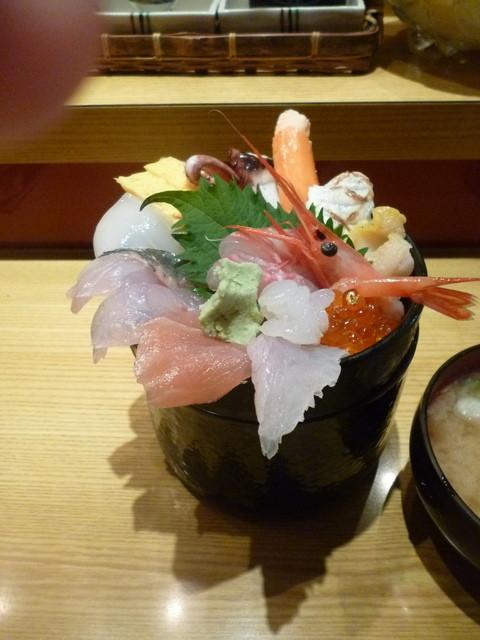 いきいき亭 近江町店 - ミニ金沢丼