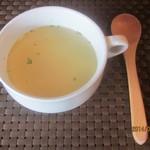 菓子と珈琲 朔 - コンソメスープ