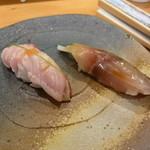 鮨処 喜楽 - 寿司(さばと金目)