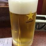お加代 - 生ビール