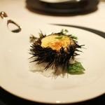WITH - 再訪:届いたばかりの北海道産ウニの殻焼きグラタン☆