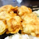 十八屋 - 料理写真:カラアゲ弁当の唐揚げ