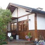 和洋喫茶 レモンの木 - ログハウス風の外観