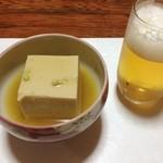 大平 - ゴマ豆腐の餡掛け〜(^o^)/