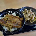 吉野家 - 鰻丼と牛皿並