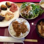 日本料理あじさい - 朝職 バイキング