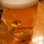 串もんてき - 生ビール中三杯目