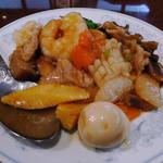 中国料理 慶福楼 - 定食Bの、はっぽう菜