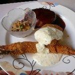 サン・プリンセス - 海老フライ+ハンバーグ+白身魚フライ