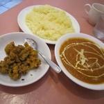 インドレストラン プージャ - ダルランチ&カリフラワーのお漬物♪