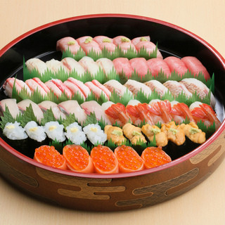 すしだるまのお寿司をご自宅で♪一人前よりご予約承ります。