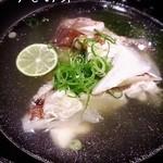うまいんじょ処 魚や - 料理写真:【うしお汁】お魚の出汁がきいている上品なお味のうしお汁。売り切れる事が多いので、早目にご注文ください!