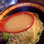 本田商店 - 滋味深い純豚骨スープ