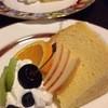 甚や倶楽部 - 料理写真:シフォンケーキ500円コーヒーとセットで100円引き
