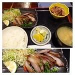 四季の味処 髭ダルマ - 豚とろみそ焼き定食(880円)