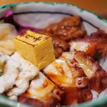 すし哲 - 料理写真:ふんわり穴子とやわらか煮たこ